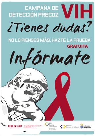 Test VIH gratuito confidencial