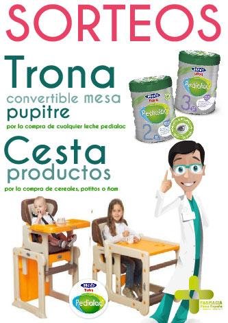 Sorteo compra productos infantiles Pedialac V