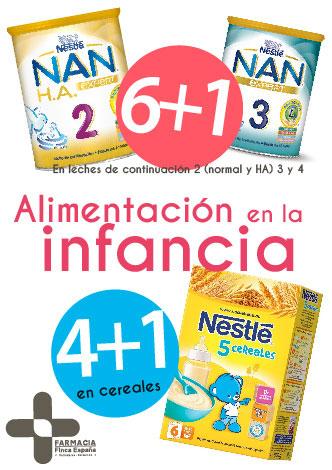 oferta 4+1 alimento infantil Nestle V