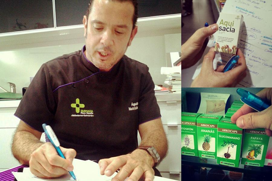 Agustín Mesa, Nutricionista