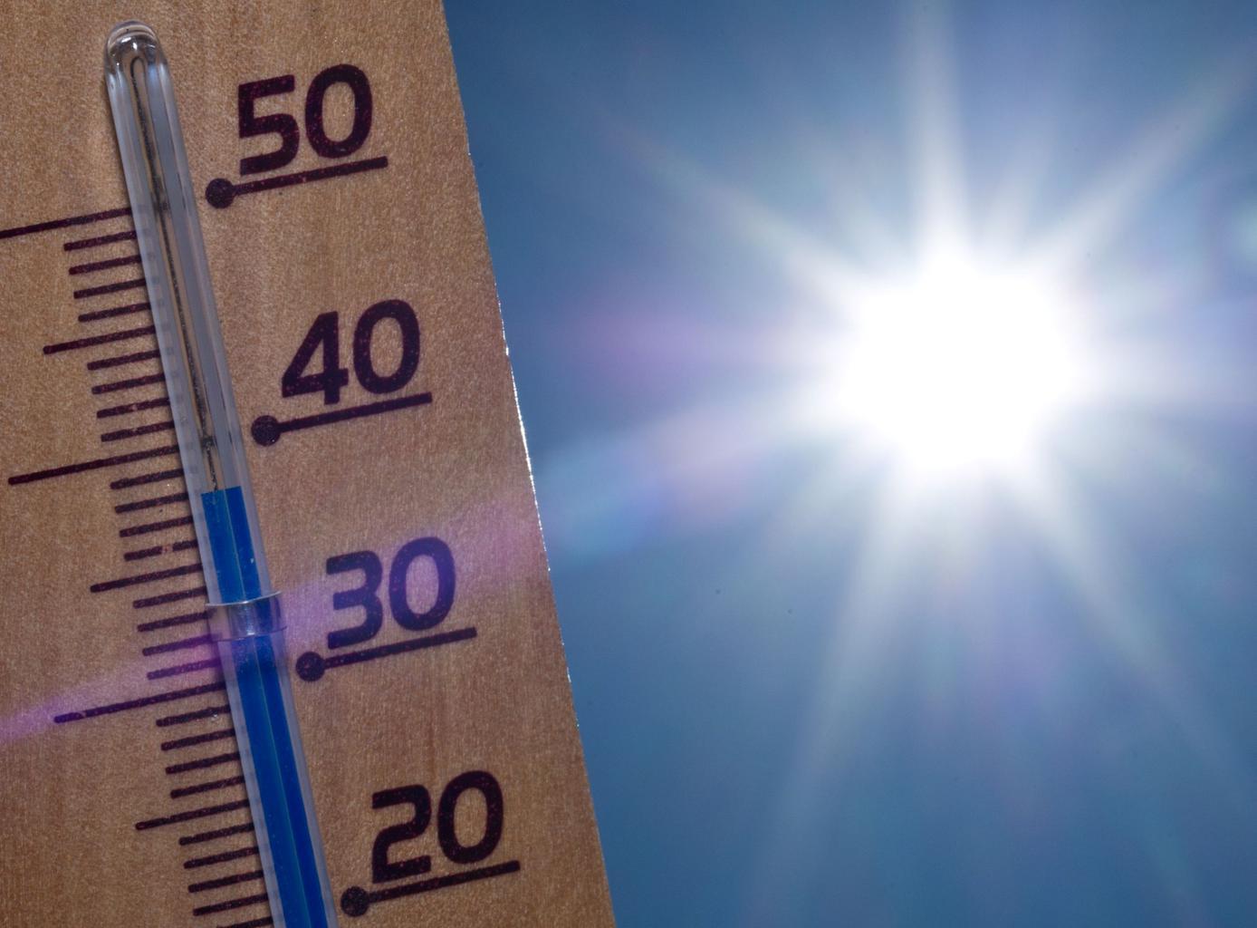 Ola de calor altas temperaturas