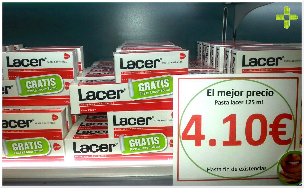 Farmacia Finca España promo Lacer