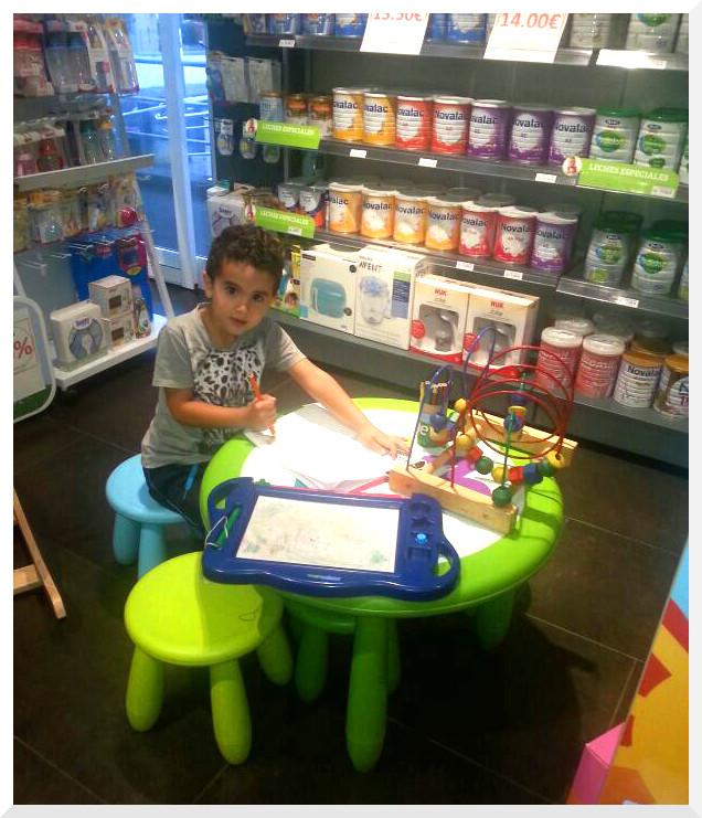 Farmacia Tenerife zona de juego infantil