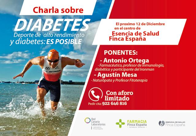 Charla diabetes y deporte es posible Esencia de Salud La Laguna