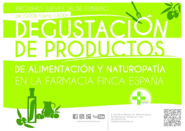 Degustación productos naturales