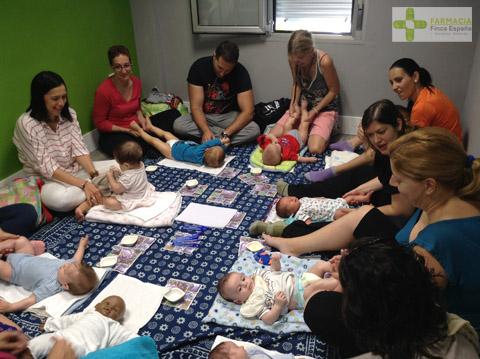 Taller de masajes terapéuticos para bebés