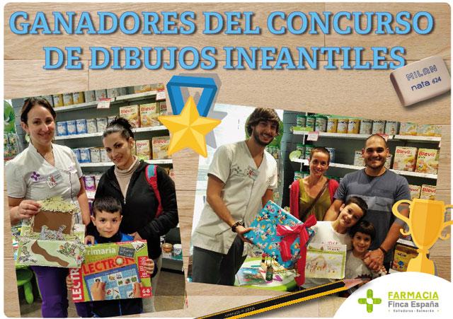 Ganadores concurso dibujo infantil 2015