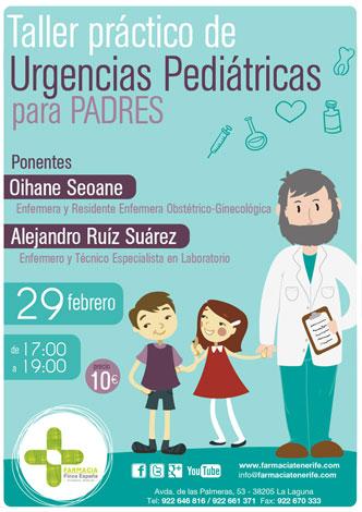Taller urgencias pediatricas padres