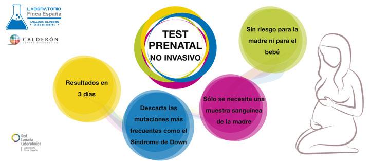 Test prenatal no invasivo Tenerife
