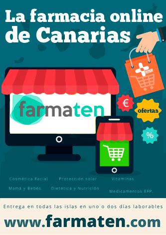 Farmacia online Canarias Farmaten