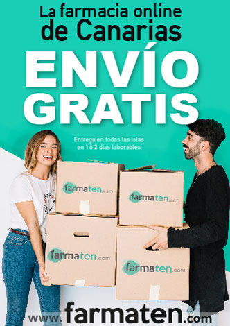 Farmacia online Canarias envío gratis Farmaten