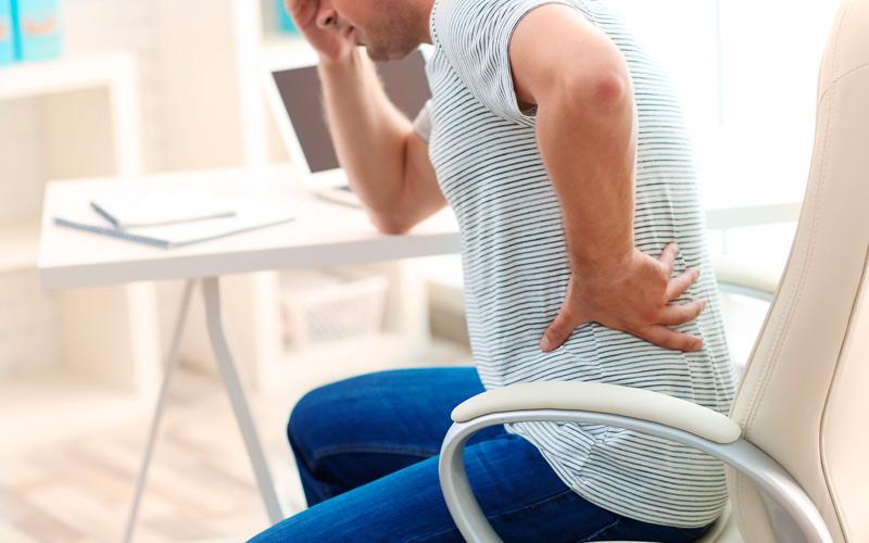dolor de espalda al estar acostado boca arriba