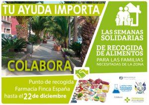 Recogida de alimentos en Tenerife