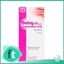 Ibuprofeno Dalsy 40 mg ml