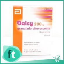Ibuprofeno Dalsy 200 mg