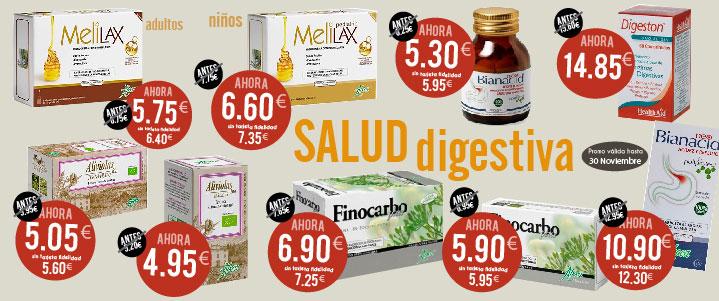 Productos oferta salud digestiva