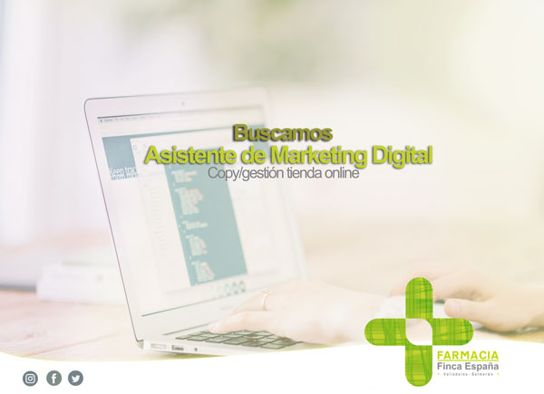 Empleo asistente de marketing