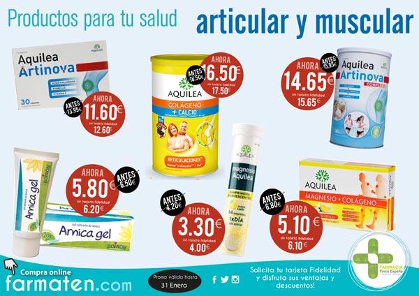 Oferta productos articular muscular