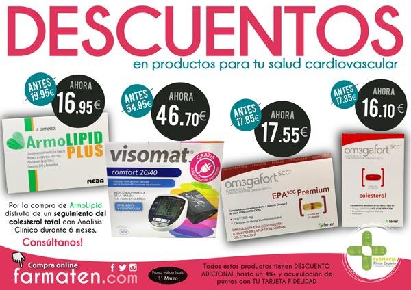 Promociones cardiovascular