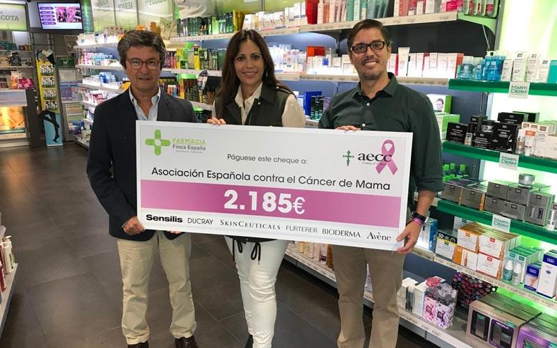 Donación farmacia Tenerife Finca España AECC 2018