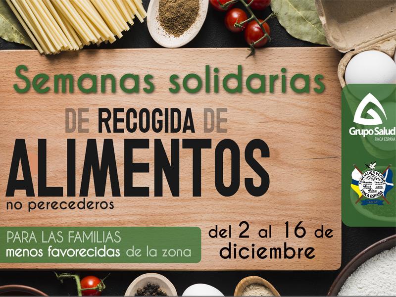 Recogida de alimentos Finca España