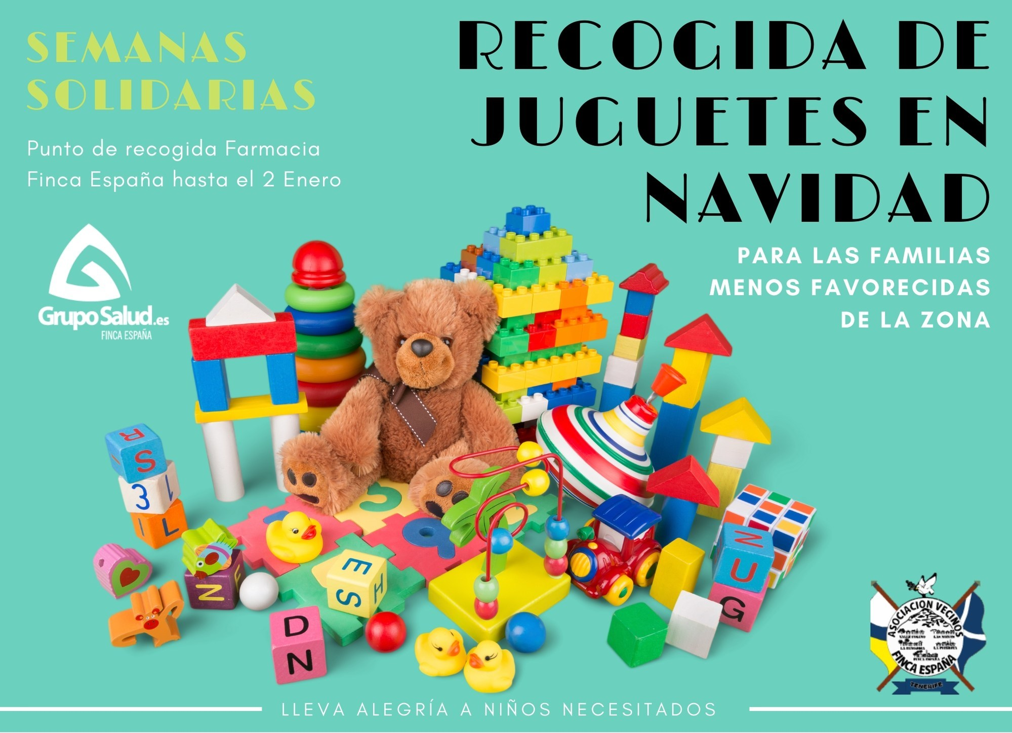 Solidarios recogida Juguetes